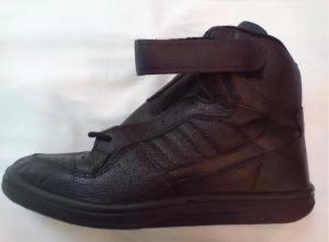 кроссовки динамо чёрные высокие