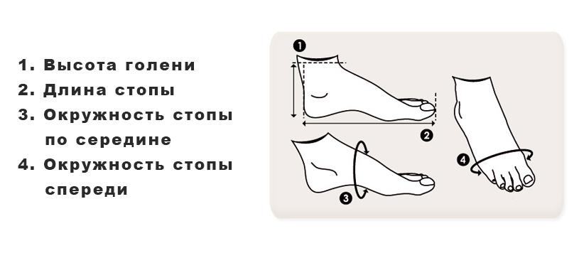 Узнаем-размер-женской-обуви кроссовок динамо